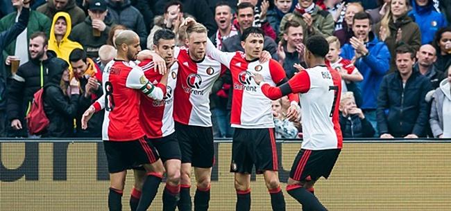 Foto: 'Feyenoorder ziet vertrekkans plotseling stijgen'