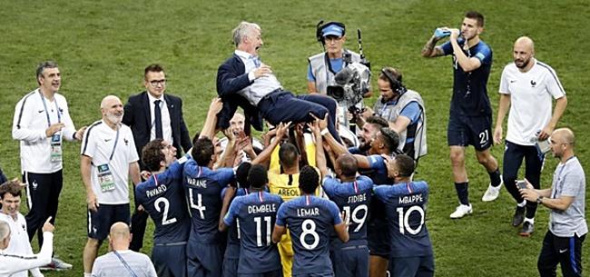 Foto: Franse voetballer veilt WK-medaille 2018