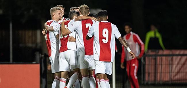 Foto: 'Eerst zorgen dat ik in Jong Ajax de beste word'