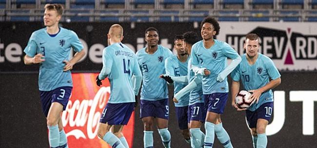 Foto: Buitenland kijkt ogen uit bij Jong Oranje: 'Superster'
