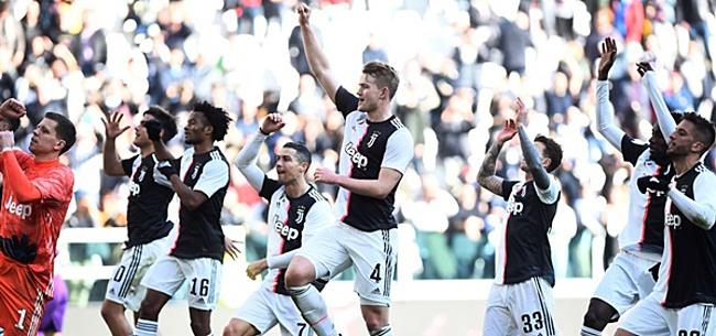 Foto: Juventus weert alleen Milan-fans vanwege coronavirus