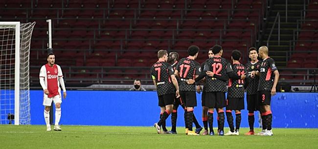 Foto: Ajax verliest volkomen onnodig van Liverpool