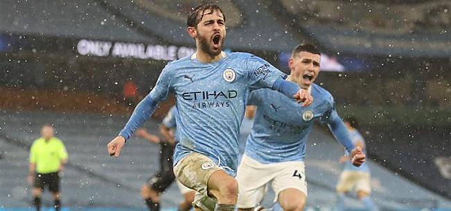 Foto: Manchester City wint en staat eerste in Premier League