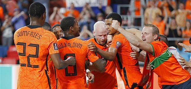 Foto: Buitenland wijst nieuwe Oranje-ster aan: