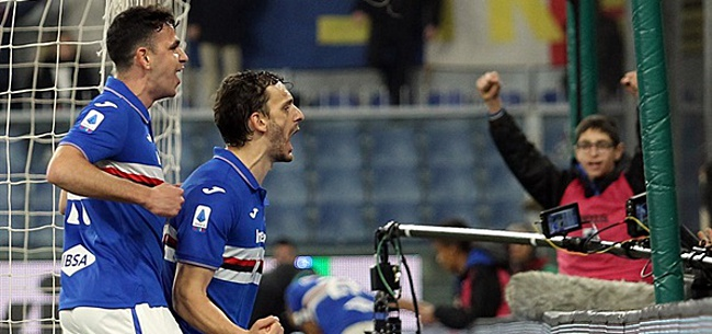 Foto: Ook Sampdoria-speler Gabbiadini heeft coronavirus