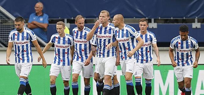 Foto: Heerenveen-verdediger spreekt vertrekwens uit