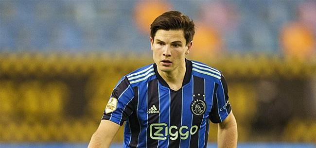 Foto: Ekkelenkamp baalt van Ajax-moment: