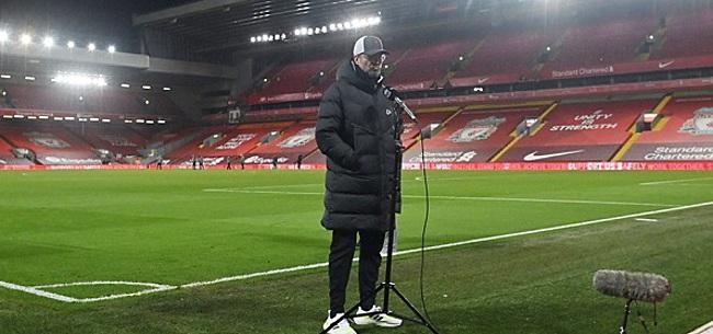 Foto: Klopp over bizarre situatie Man United: 'Een misdaad'