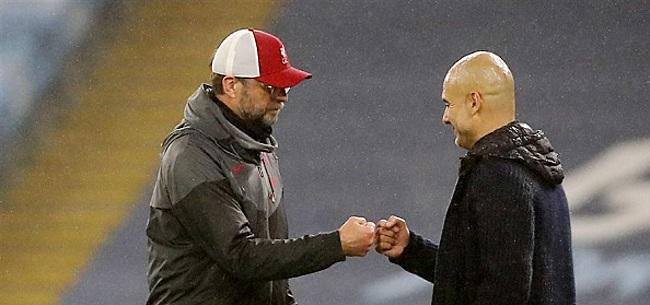 Foto: Guardiola en Klopp: