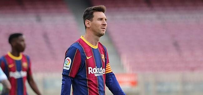 Foto: Messi krijgt harde boodschap van Laporta: 'Dat accepteer ik niet'