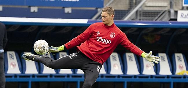 Foto: Late wissel: Scherpen maakt Eredivisie-debuut bij Ajax