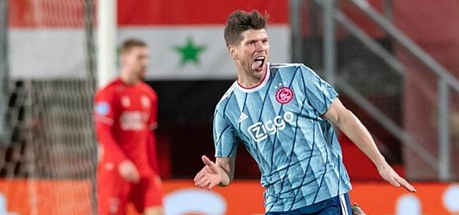 Foto: Huntelaar pijnigt FC Twente: 'Of het een vervelende gozer is?'