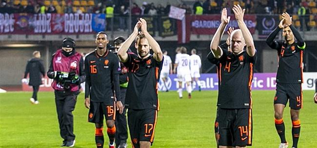 Foto: Zo bleef de Oranje doelpuntenregen uit tegen Letland