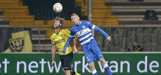 Foto: PEC Zwolle en VVV-Venlo delen de punten