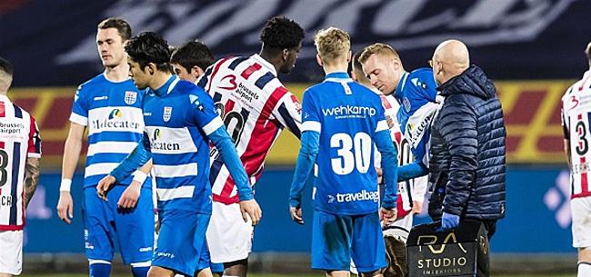 Foto: Van der Ende verzucht:
