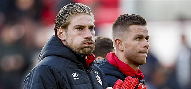 Foto: Unnerstall blikt terug op keeperssoap PSV: 'Ik wist precies hoe het zat'