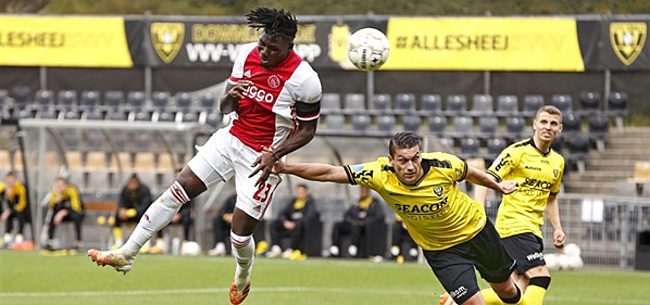 Foto: Wonderbaarlijk Ajax-duo, Mauro manusje van alles