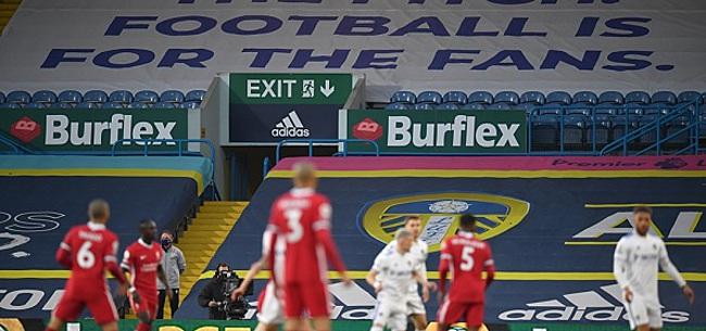 Foto: Protesterend Leeds deelt Liverpool tik uit