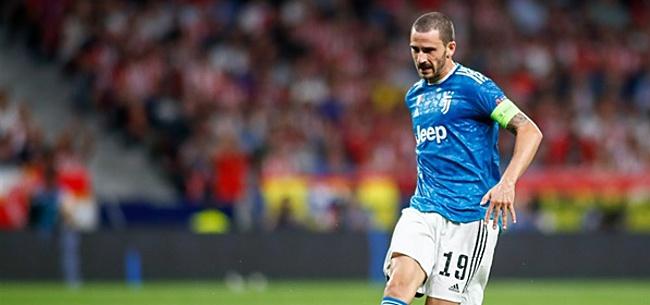 Foto: Bonucci meedogenloos over ploeggenoten
