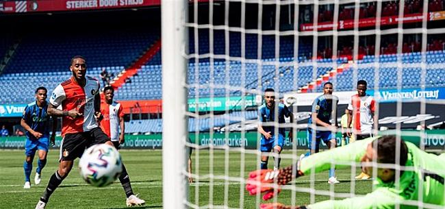 Foto: Discussie na Feyenoord-penalty: