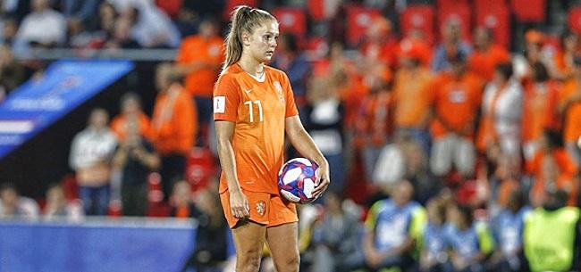Foto: Lieke Martens begint tegen Brazilië in de basis