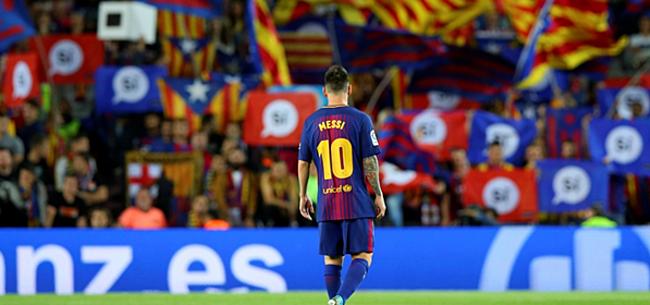 Foto: 'Withete Messi: als jullie hem verkopen ben ik weg'