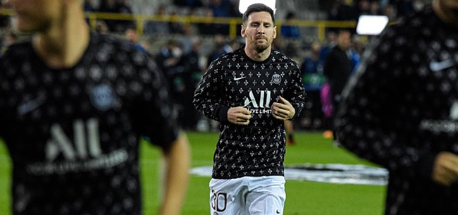 Foto: PSG woedend na Messi-onthulling in L'Equipe