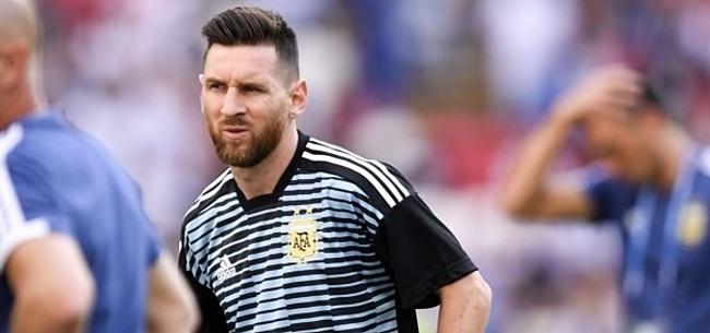 Foto: 'Argentinië-rentree Messi plots zéér twijfelachtig'