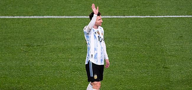 Foto: Argentinië speelt 'fantastische wedstrijd', Messi scoort