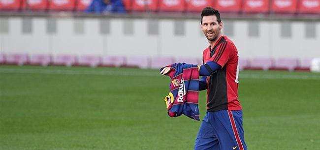 Foto: 'Nieuwe club Lionel Messi is al bekend'