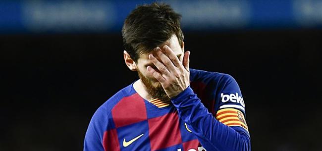 Foto: 'Teamgenoten moeten Messi kalmeren na nieuwe rel'