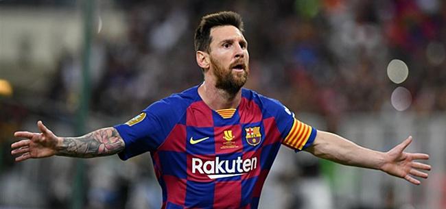 Foto: 'Messi wil clausule behouden vanwege één club'