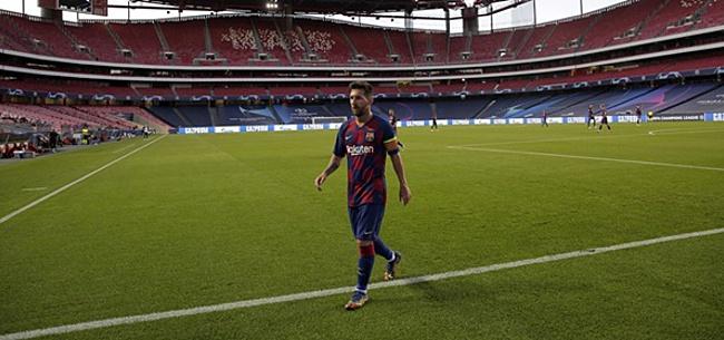 Foto: 'Messi brengt Koeman metéén signaal over'