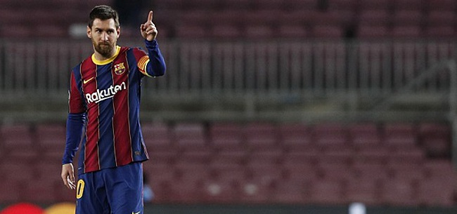 Foto: Presidentskandidaten unaniem over 'cadeau' Messi