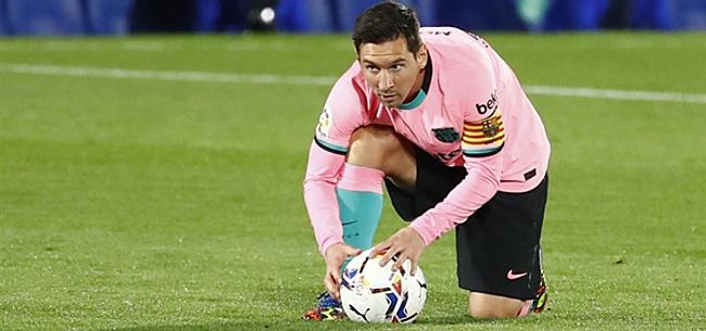 Foto: Messi richt zich tot eeuwige rivaal Ronaldo: