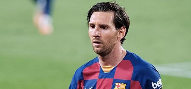 Foto: 'Lionel Messi weigert bij te tekenen na gelekte berichten'