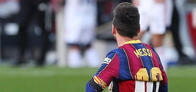 Foto: 'Messi begrijpt niets van 'Ajax-besluit' FC Barcelona'