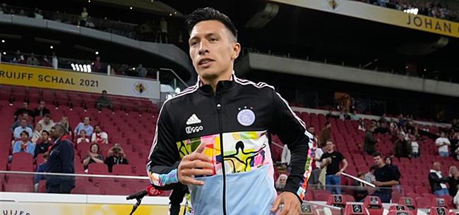 Foto: Martínez legt uit waarom hij bij Ajax verlengt