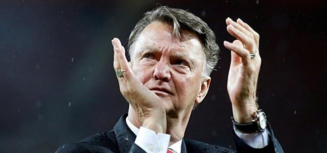 Foto: Van Gaal toch een beetje bondscoach