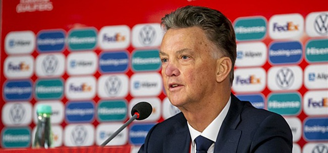 Foto: 'WK-drama komt uit voor Louis van Gaal'
