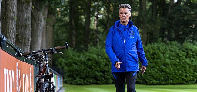 Foto: Opstelling Nederlands elftal: Van Gaal kiest voor debutant