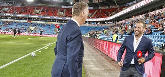 Foto: V/d Vaart countert lof Oranje-speler: 'Jullie hemelen hem op..'