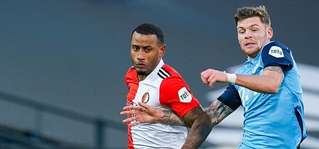 Foto: Opstelling Feyenoord: Vaste krachten keren terug, Narsingh vervangt Jörgensen