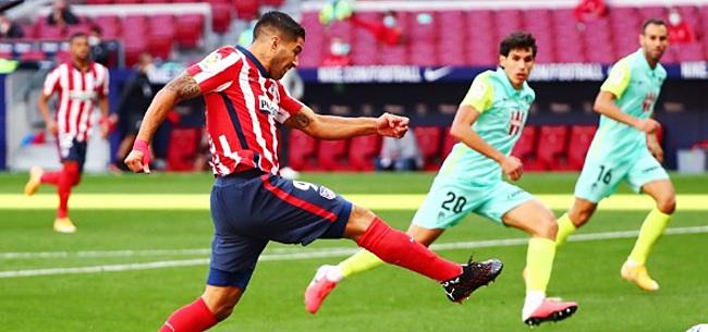 Foto: Nieuwe dreun voor Atlético: Suarez geblesseerd