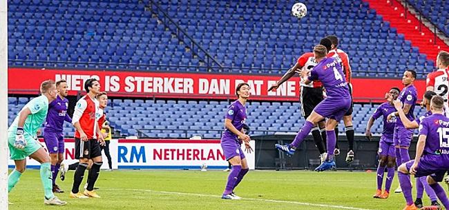 Foto: Feyenoord worstelt zich naar zege op FC Groningen