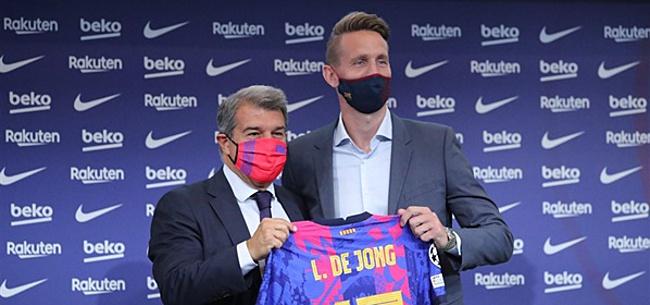 Foto: Catalaanse krant meldt 'Luuk de Jong-stunt'