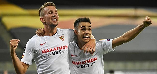 Foto: De Vrij én De Jong in basis voor Europa League-finale