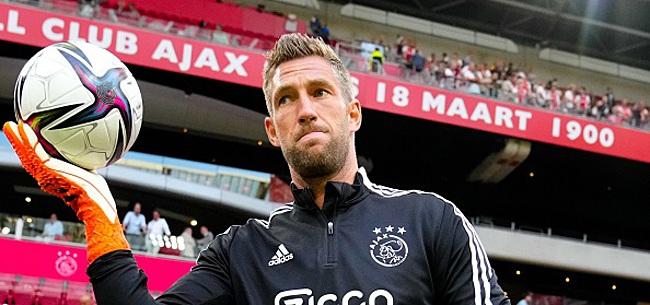 Foto: Stekelenburg haakt tóch af voor CL-duel van Ajax