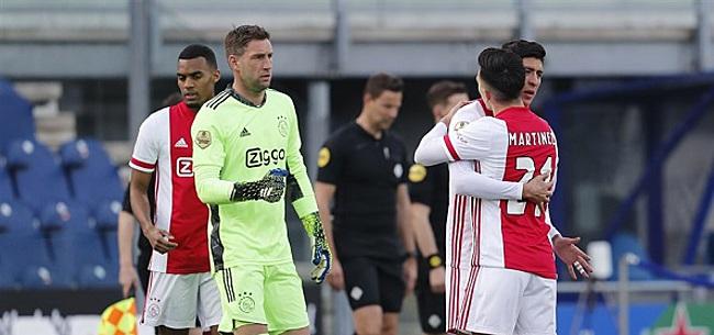 Foto: Blessure maakt einde aan seizoen Ajax-basisklant