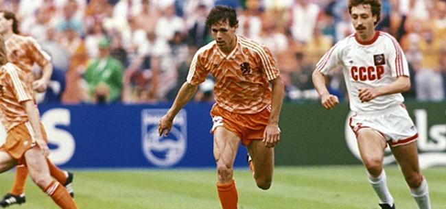 Foto: Historische Oranje-shirts genomineerd door Marca